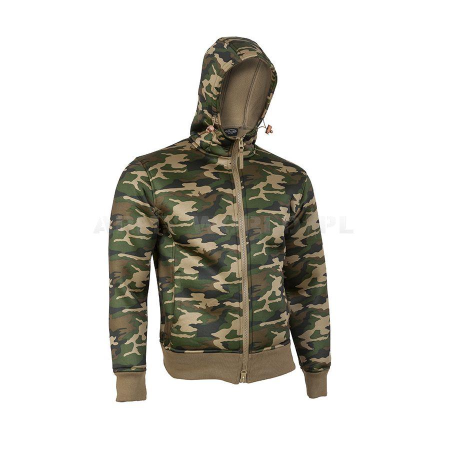 Bunda NEOPREN s fleece podšívkou WOODLAND MIL-TEC® 10860020 L-11