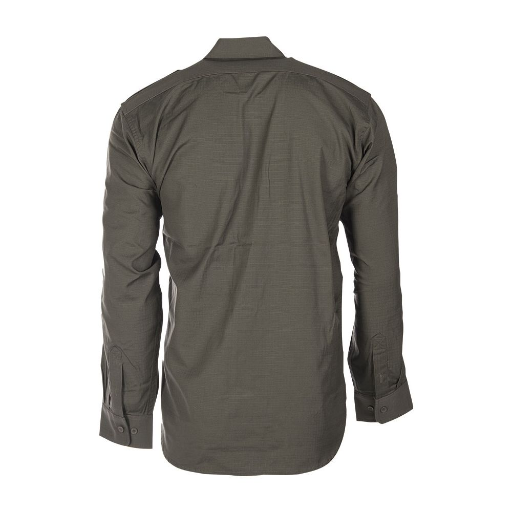 Košile polní na knoflíky rip-stop ZELENÁ MIL-TEC® 10915001 L-11
