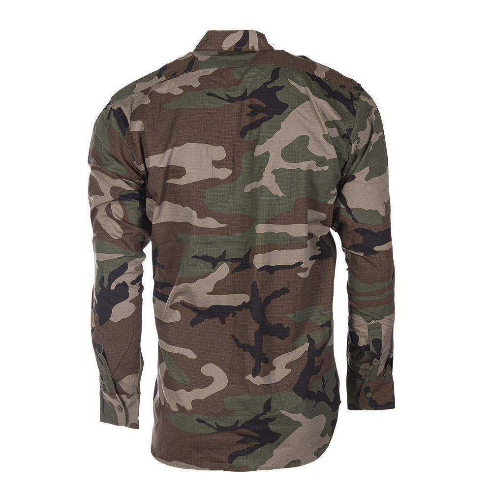 Košile polní na knoflíky rip-stop WOODLAND MIL-TEC® 10915020 L-11
