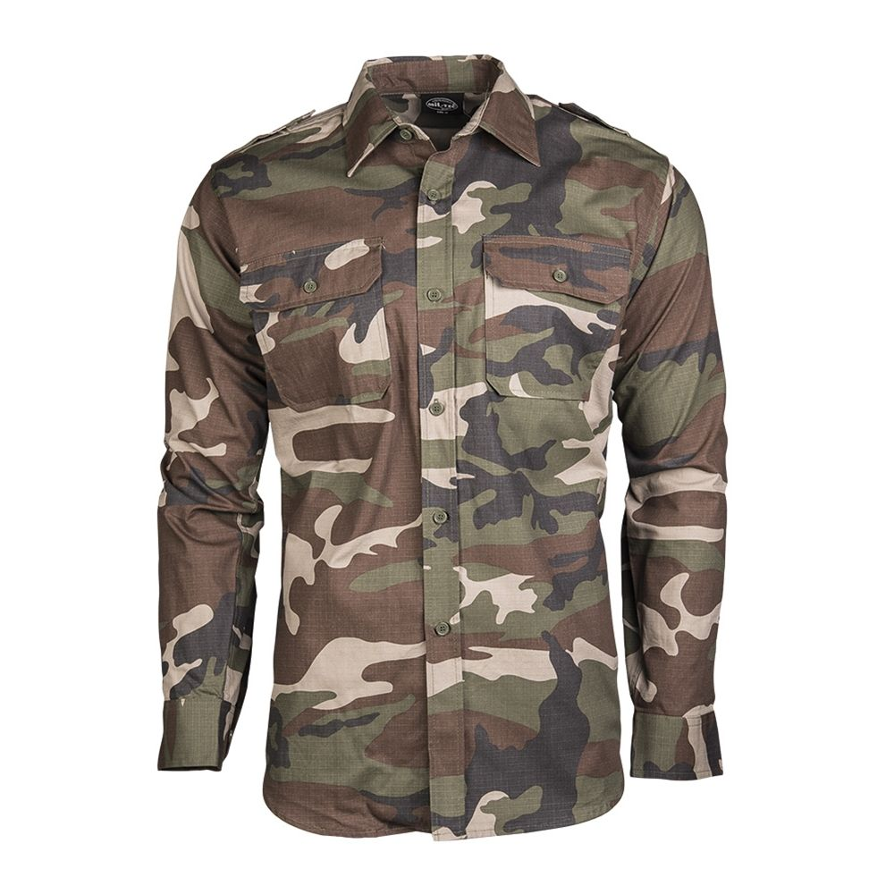 Košile polní na knoflíky rip-stop CCE MIL-TEC® 10915024 L-11