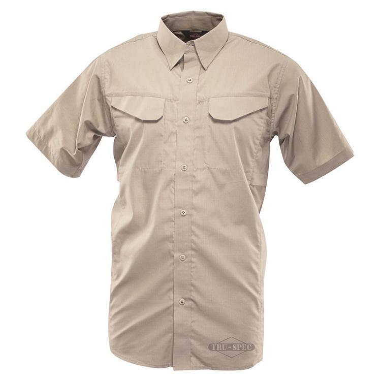 Košile 24-7 FIELD krátký rukáv rip-stop KHAKI TRU-SPEC 24-7 1092000 L-11
