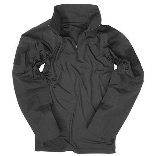 Košile taktická  s límečkem ČERNÁ MIL-TEC® 10920002 L-11