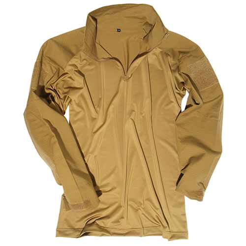Košile taktická  s límečkem COYOTE MIL-TEC® 10920005 L-11