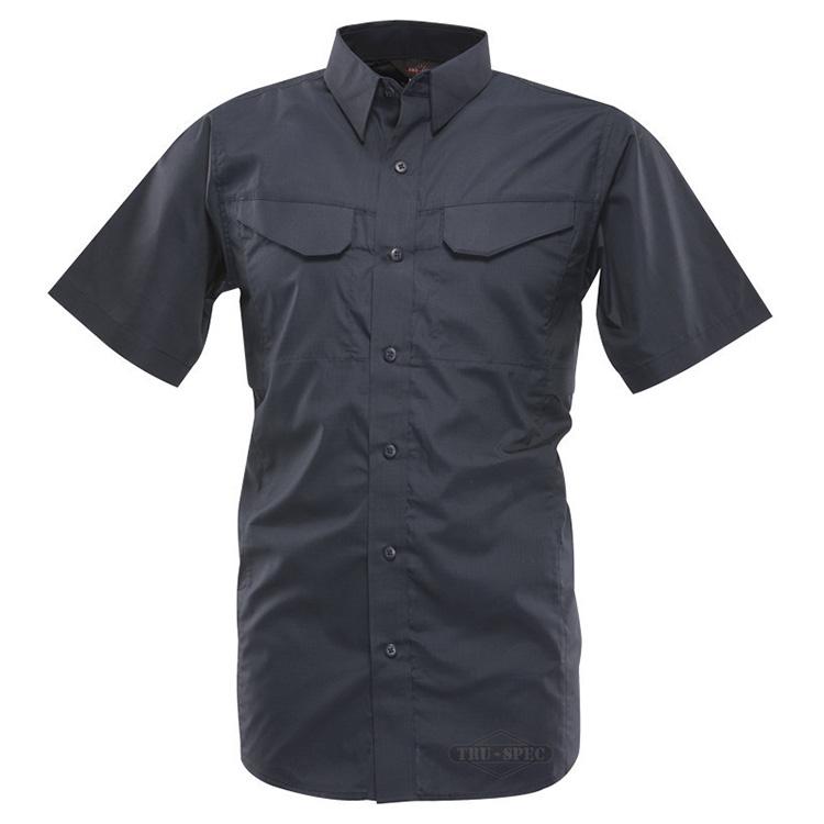 Košile 24-7 FIELD krátký rukáv rip-stop MODRÁ TRU-SPEC 24-7 1093000 L-11