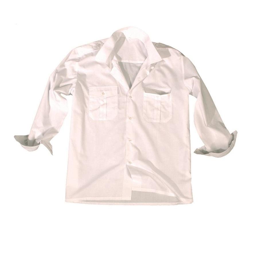 Košile SERVIS dlouhý rukáv na knoflíky BÍLÁ MIL-TEC® 10931007 L-11