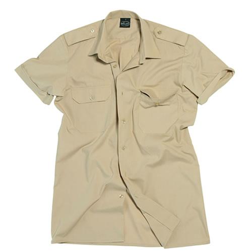 Košile SERVIS krátký rukáv na knoflíky KHAKI MIL-TEC® 10932004 L-11