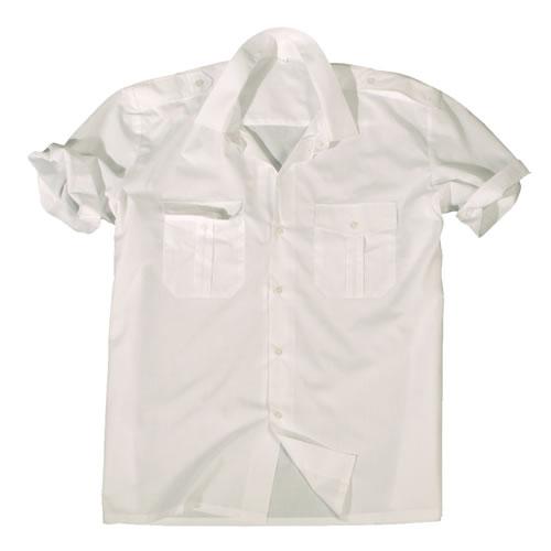Košile SERVIS krátký rukáv na knoflíky BÍLÁ MIL-TEC® 10932007 L-11