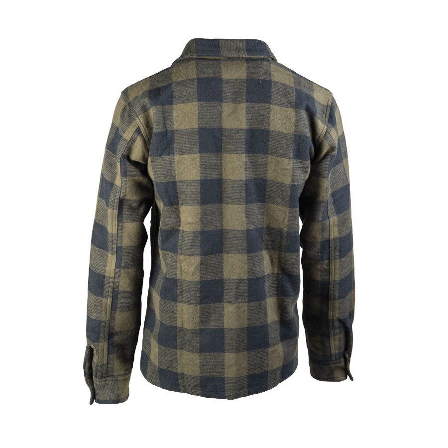 Košile DŘEVORUBECKÁ na knoflíky ZELENOČERNÁ MIL-TEC® 10940002 L-11