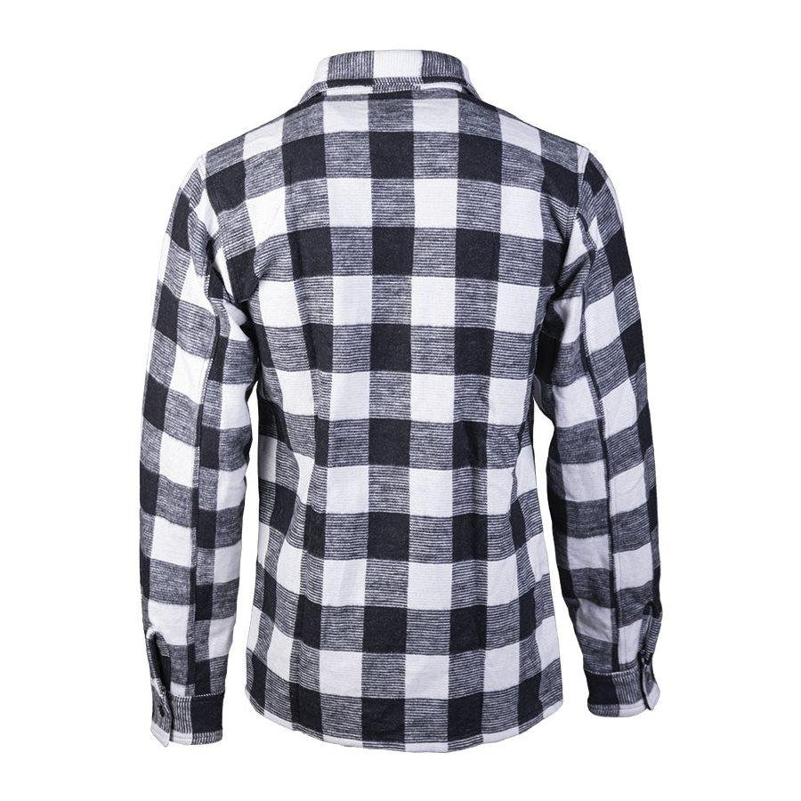 Košile DŘEVORUBECKÁ na knoflíky BÍLOČERNÁ MIL-TEC® 10940007 L-11