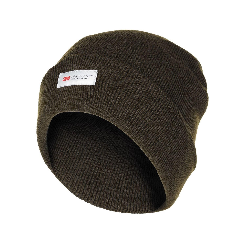Čepice pletená Acryl Thinsulate™ ZELENÁ