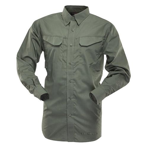 Košile 24-7 FIELD dlouhý rukáv rip-stop ZELENÁ TRU-SPEC 24-7 11040 L-11