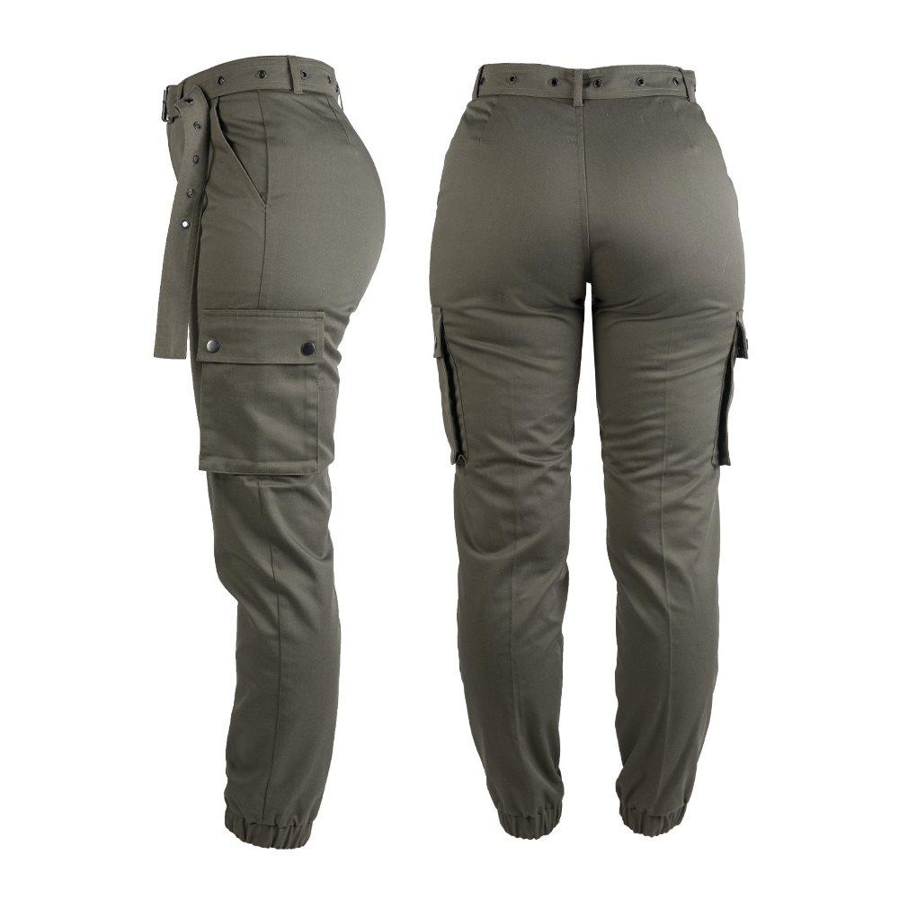 Kalhoty dámské ARMY ZELENÉ MIL-TEC® 11139001 L-11