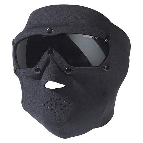 SWISS EYE® Maska s brýlemi SWAT PRO neopren ČERNÁ