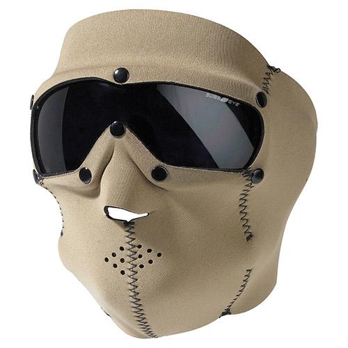 SWISS EYE® Maska s brýlemi SWAT PRO neopren KHAKI