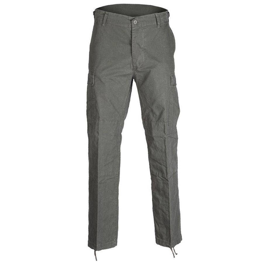 MIL-TEC® | Kalhoty US BDU polní rip-stop předeprané ZELENÉ vel.L