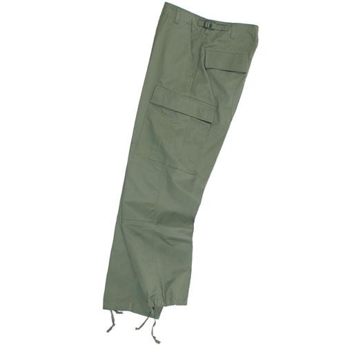 MIL-TEC® | Kalhoty US BDU polní rip-stop ZELENÉ vel.L
