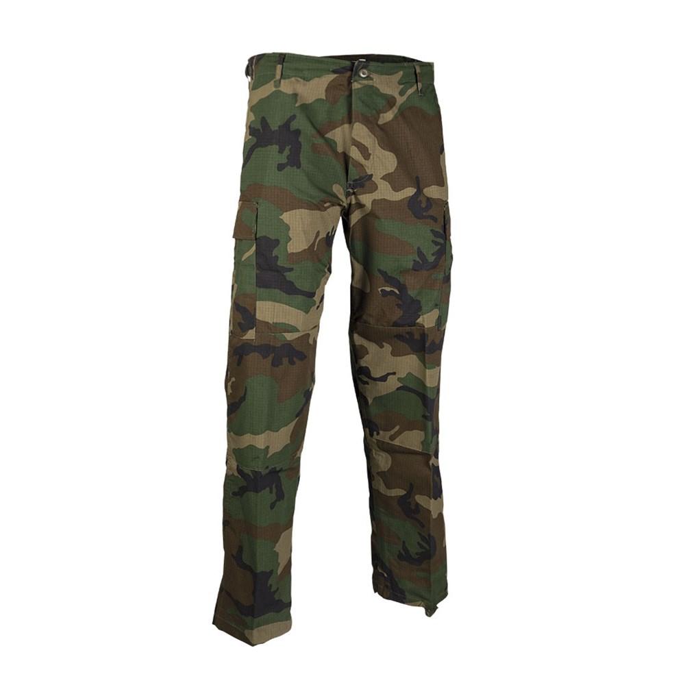 MIL-TEC® | Kalhoty US BDU polní rip-stop WOODLAND vel.L