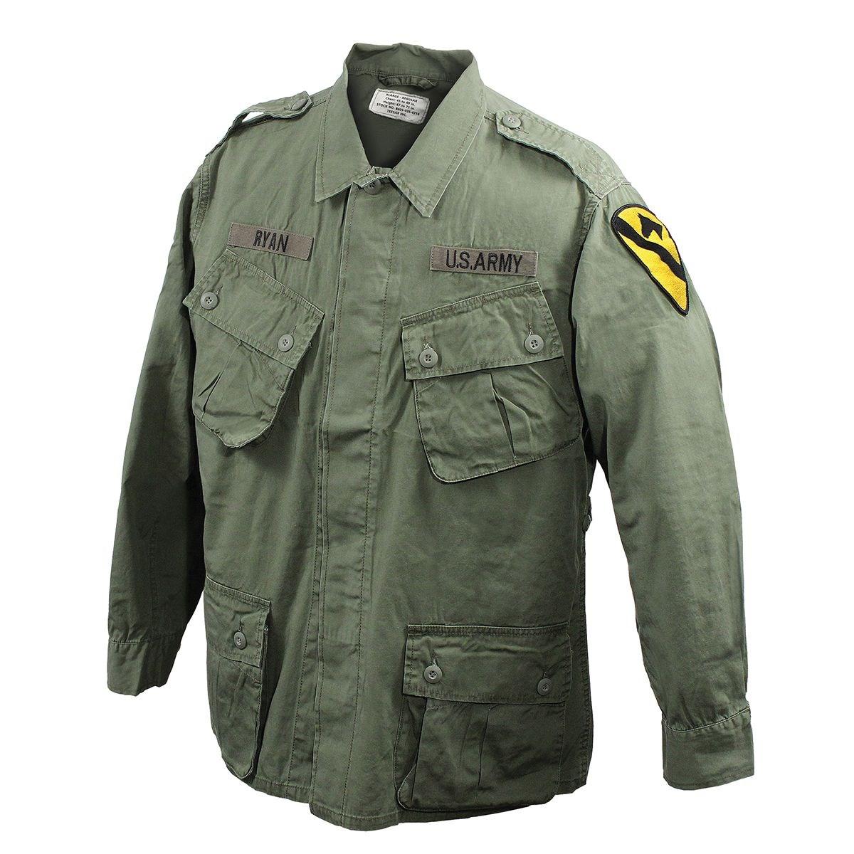 Blůza M64 VIETNAM šikmé kapsy ZELENÁ TEESAR® 11997001 L-11