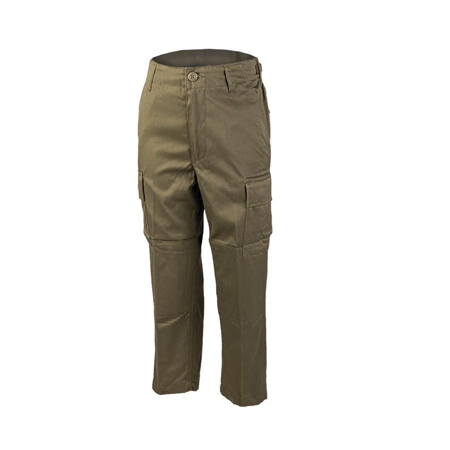 MIL-TEC® | Kalhoty dětské US BDU ZELENÉ vel.L / 152