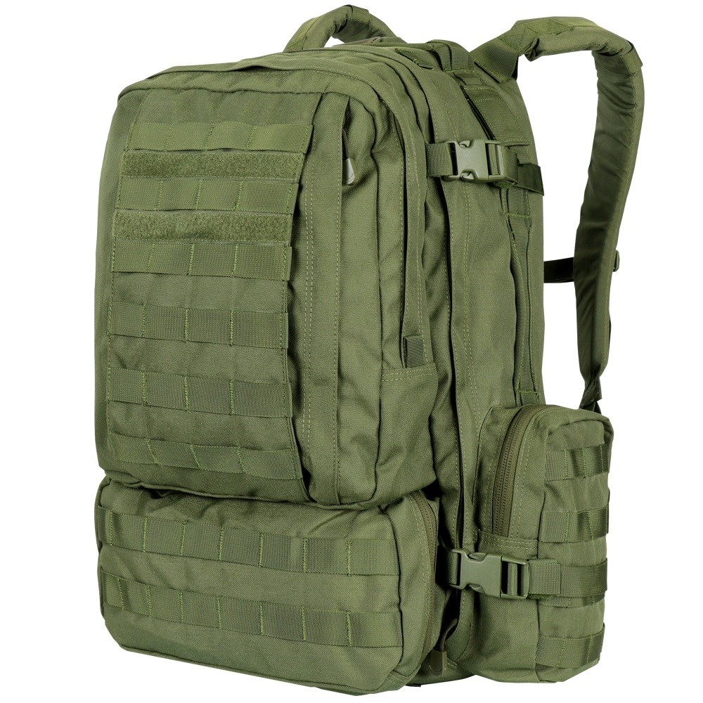 CONDOR OUTDOOR | Batoh MOLLE 3-DAYS ASSAULT - ZELENÝ