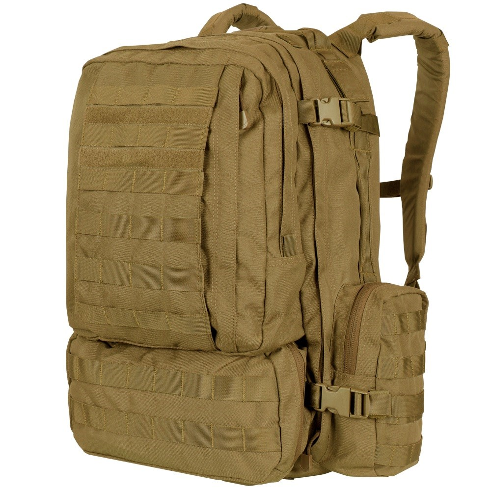 CONDOR OUTDOOR | Batoh MOLLE 3-DAYS ASSAULT - COYOTE BROWN