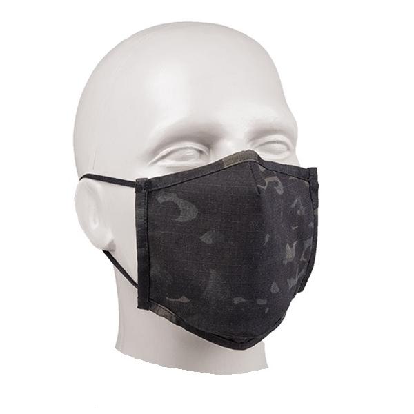 Rouška SQUARE-SHAPE rip-stop MULTITARN® BLACK