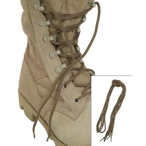 Tkaničky kulaté do bot COYOTE 220 cm
