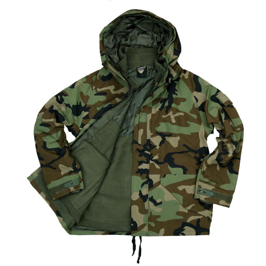 Bunda/parka s fleece vložkou WOODLAND 101INC 129865W L-11