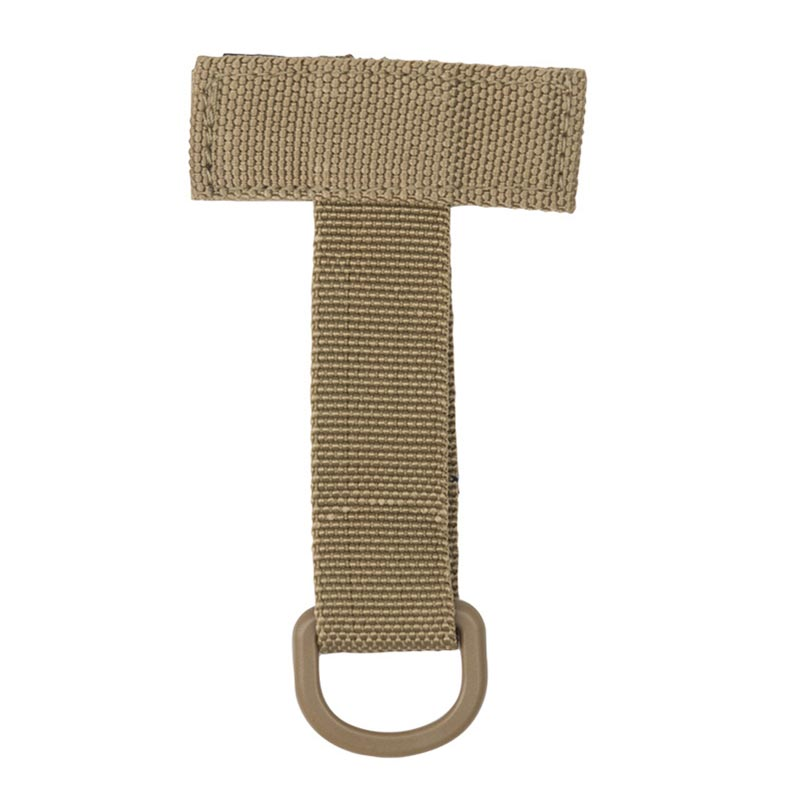 Mil-tec MOLLE Base D-Ring Coyote Brown