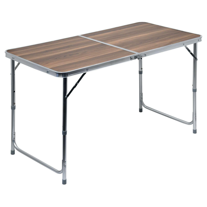 ostatní | Stůl skládací kempingový - deska umakart imitace dřeva
