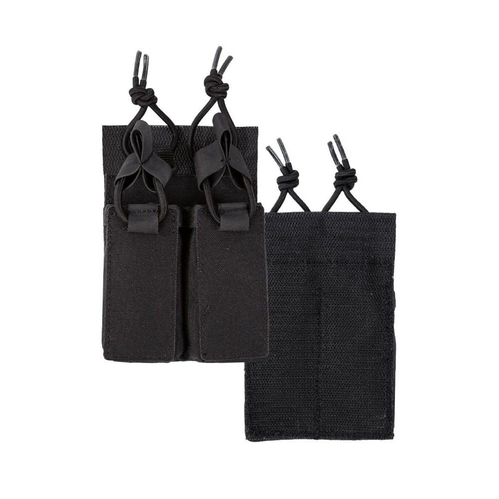 Sumka na pistolové zásobníky uchycení suchý zip ČERNÁ