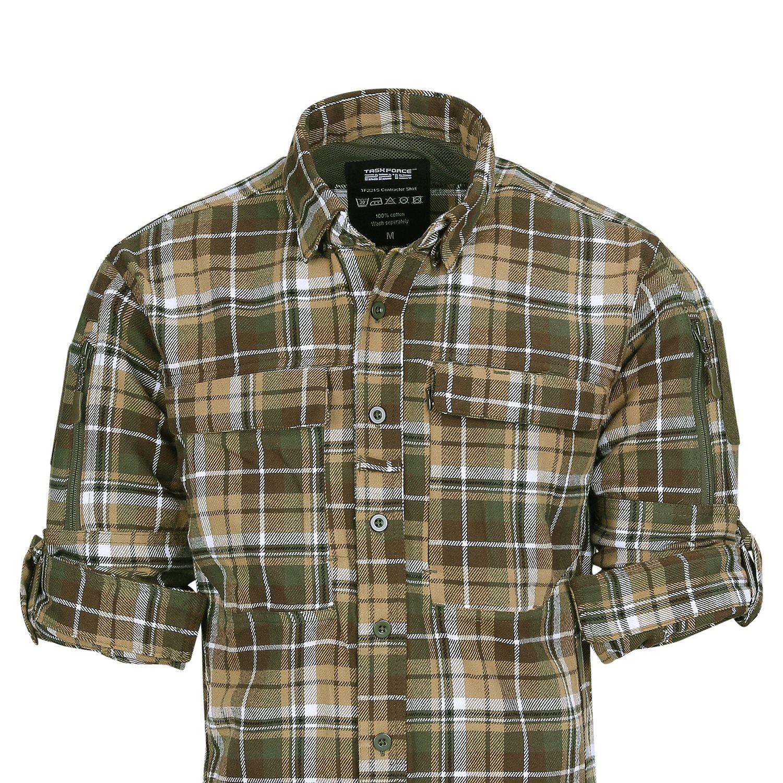 Košile flanelová CONTRACTOR Task Force 2215 135505 L-11