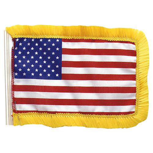 Vlajka USA malá na tyčku/anténu 11 x 15 cm