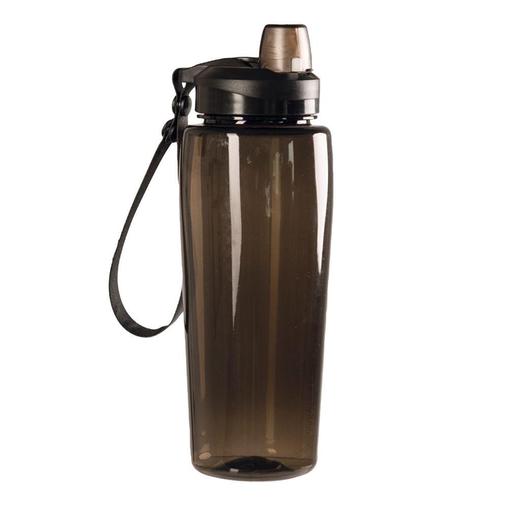 Láhev na pití plastová 0,6l KOUŘOVÁ PRŮHLEDNÁ