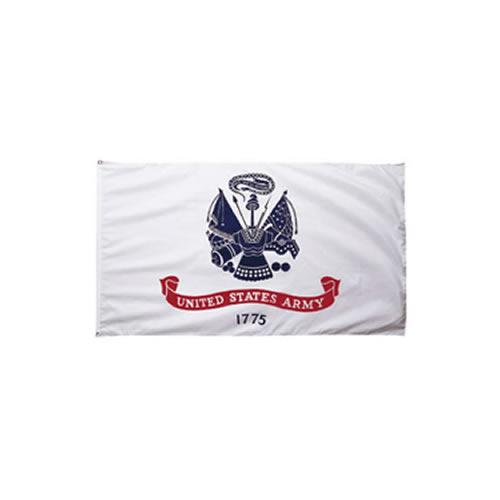 ROTHCO Vlajka US ARMY 1775 BÍLÁ