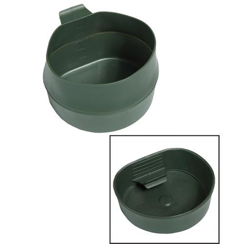 Hrnek skládací ŠVÉDSKÝ FOLD-A-CUP® plastový 600ml ZELENÝ
