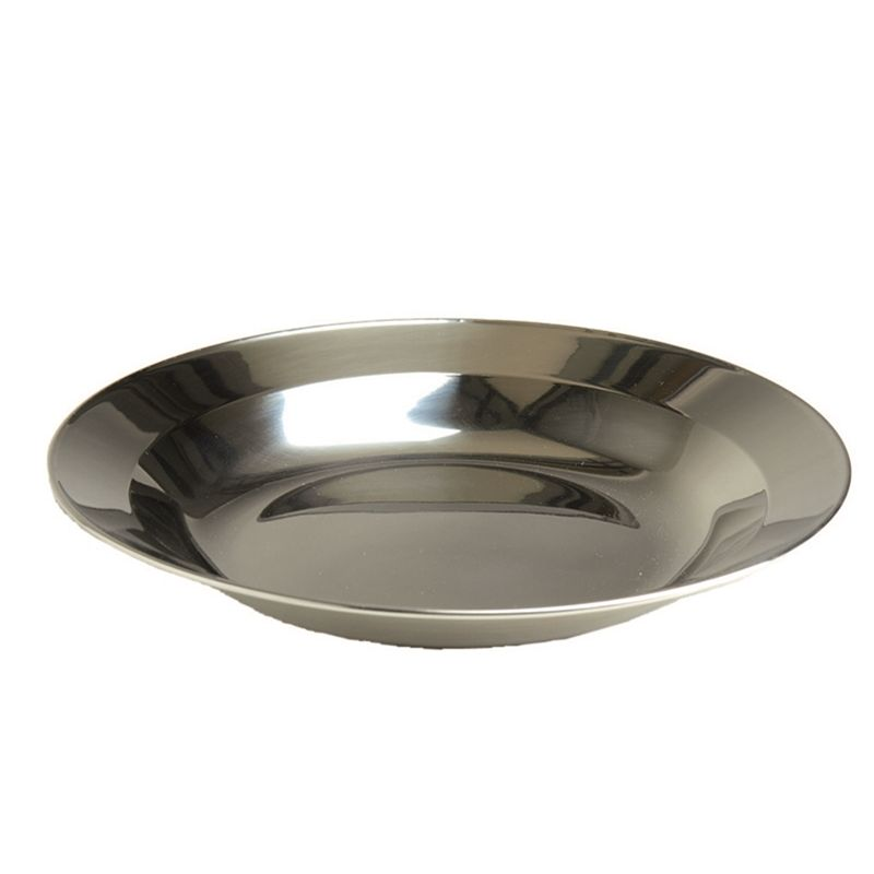 Talíř STAINLESS STEEL hluboký NEREZ 22cm MIL-TEC® 14684000 L-11