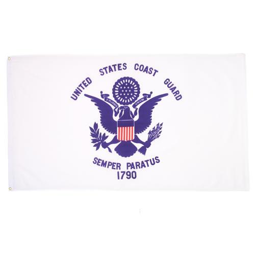 ROTHCO Vlajka pobřežní stráže U.S. COAST GUARD 1790 BÍLÁ