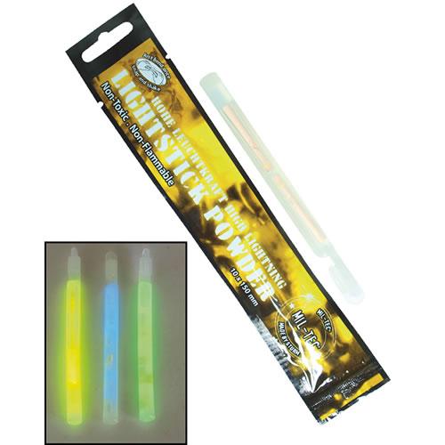 Světlo chemické POWDER 10x150 svítivost až 24h MODRÉ