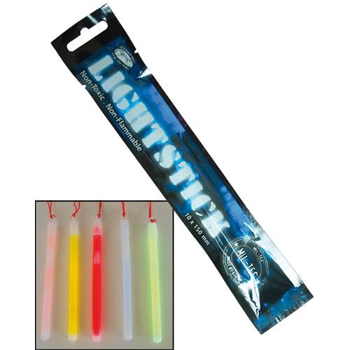 Světlo chemické MIL-TEC 10x150 svítivost 8-12h BÍLÉ
