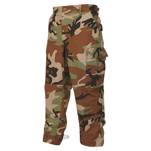 TRU-SPEC | Kalhoty BDU rip-stop WOODLAND vel.XL-L