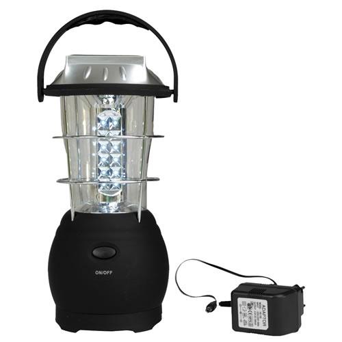 Svítilna AKKU 36 LED dobíjecí / solar / dynamo