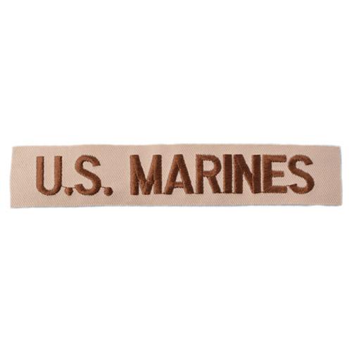 Nášivka POPISKA U.S.MARINES DESERT