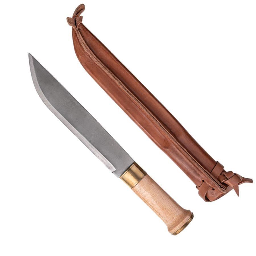MIL-TEC® | Nůž FINSKÝ velký 32cm s koženým pouzdrem