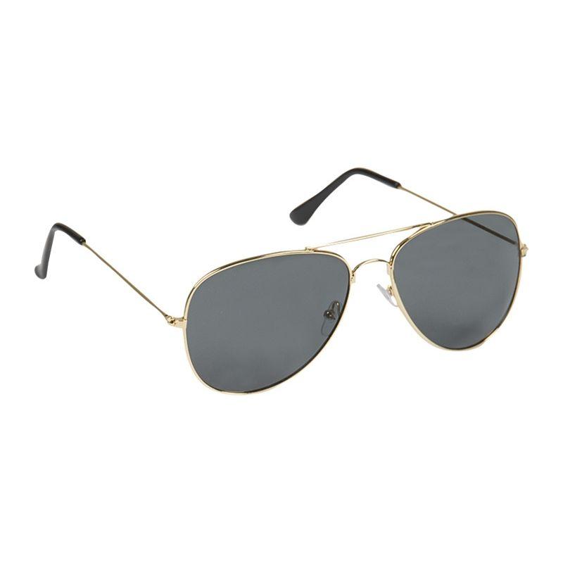 Brýle sluneční US PILOTNÍ ZLATÉ s pouzdrem