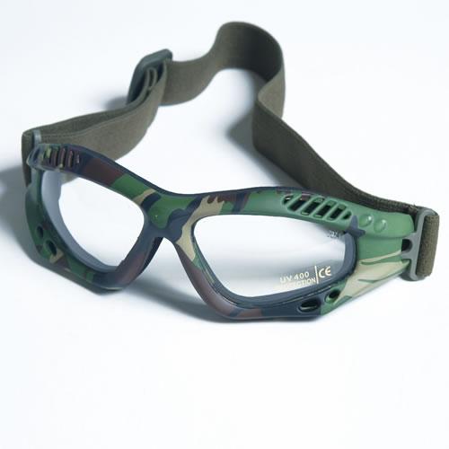Brýle COMMANDO AIR Mil-Tec WOODLAND ČIRÉ