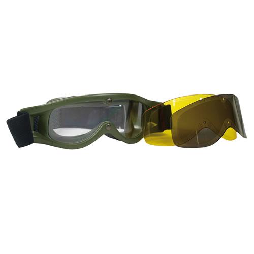 Brýle taktické BOLLE Defender ZELENÉ