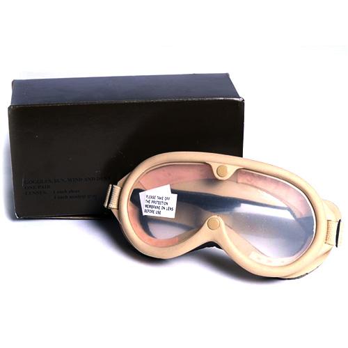 MIL-TEC® Brýle taktické US M44 v krabičce PÍSKOVÁ