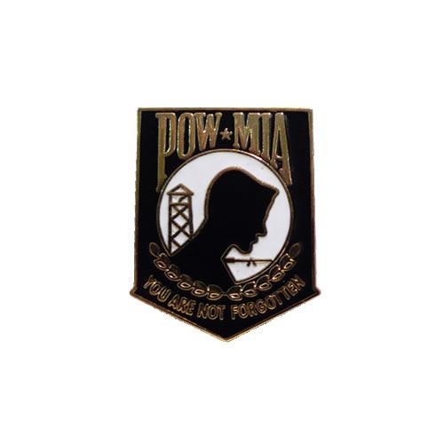 Odznak P.O.W./M.I.A. CREST ZLATÁ