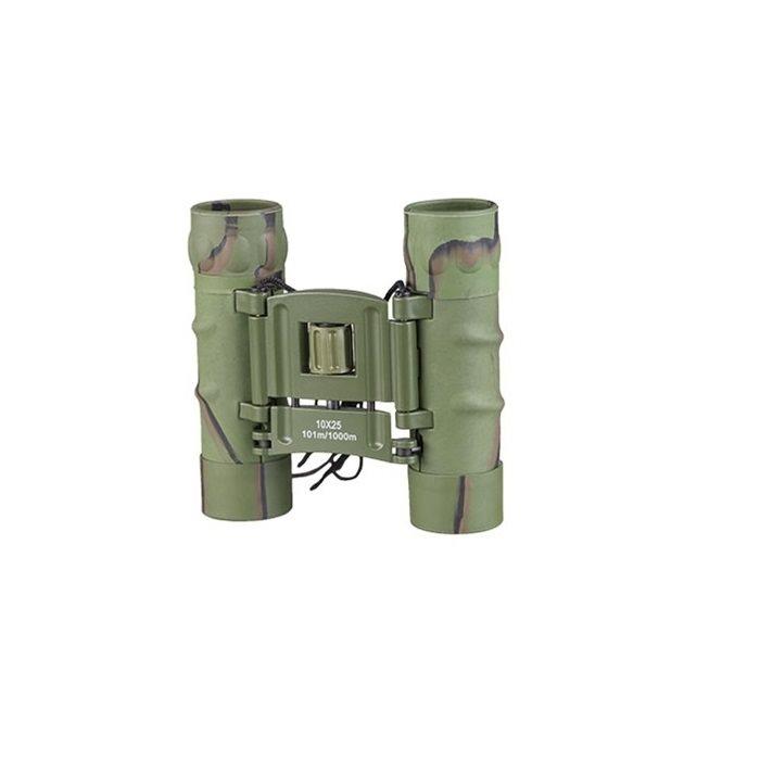 Dalekohled 10x25 GEN II pogumovaný s pouzdrem maskovaný